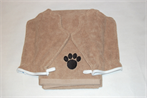 Large, Plush Pet Towel With 2 Mitts Set